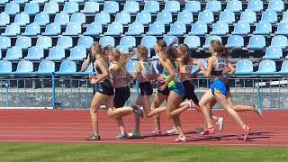 8 июня 800 м Девушки Финал