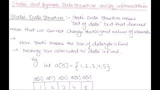 In Easiest Way With Pdf Notes] Data Structures Tutorials In