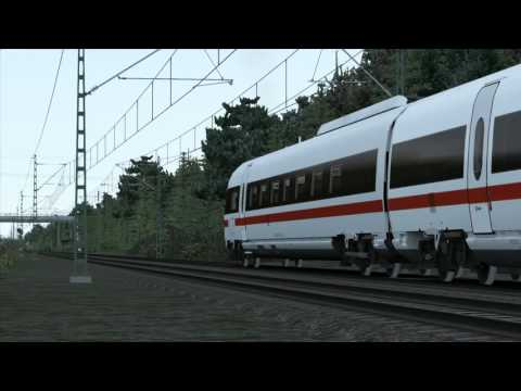 Train Simulator 2016: Football Relief Service (Hamburg Hanover - ICE-TD)