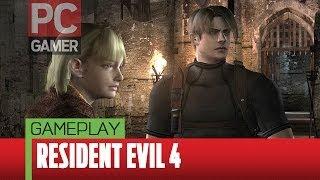 PC Gamer plays Resident Evil 4 HD