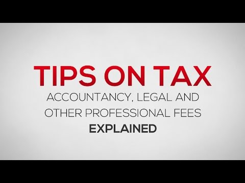 """""""Accountancy, Legal and other professional fees"""" Expense Category Explained"""