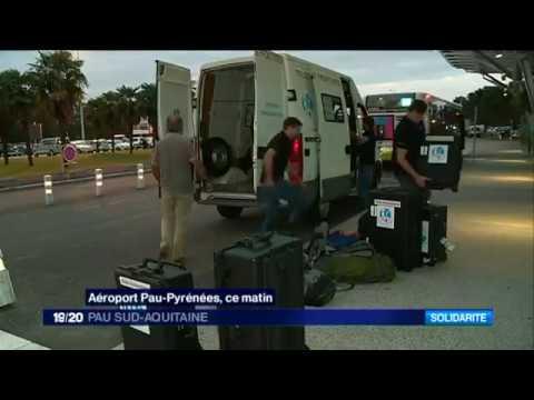 Béarn: Irma, des ingénieurs de l'ONG Télécoms sans frontières au chevet des Antilles