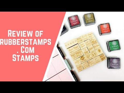 Review of Rubberstamps Stamps!