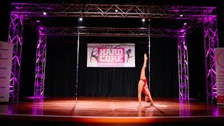 Samantha - Hardcore Pole Championships 2017 Amateur WINNER