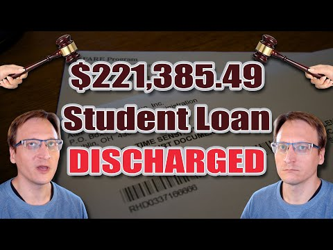 HUGE! Student Loans CAN BE DISCHARGED In Bankruptcy