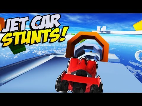 INSANE CAR STUNTING! - Jet Car Stunts Gameplay - Crash Wheels and Stunt Toys Gameplay Combined!