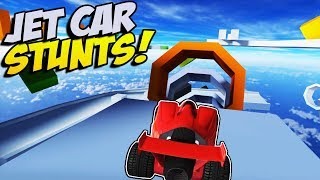 INSANE CAR STUNTING! - Jet Car Stunts Gameplay - Crash Wheels and Stunt Toys Gameplay Combined!