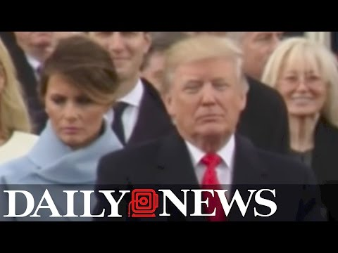 Thumbnail: Melania Trump caught on camera scowling during inauguration