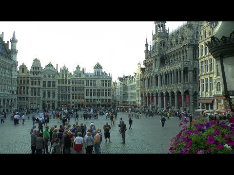 Grand-Place de Bruxelles Belgium Day and night
