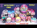 Pikmi POPS Hatchimal 3 LOL Surprise Toys ULTRA RARE Num Noms Fingerlings Blind Bags Unboxing Kids