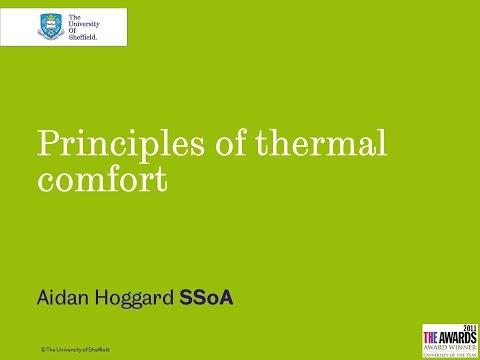 Principles of Thermal Comfort
