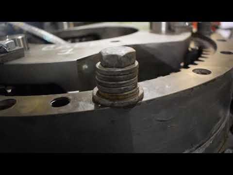 Holgura axial pin #3 carrier primario Reductor Giro EX1900-6 PN 9268775 SN 011-00546