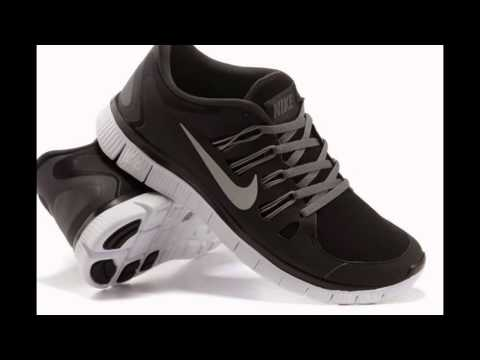 nike-mens/womens-free-5.0-running-shoes-black/white/anthracite