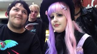 Mint and Endigo!... and Shanti... and Emil. also friends. Thumbnail