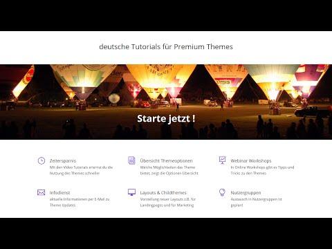 Deutsche Tutorials für WordPress Themes - Divi