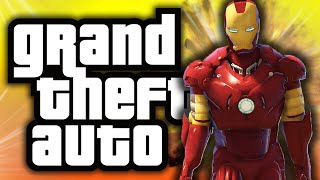 One of TheGamingLemon's most viewed videos: GTA 5: Iron Man in GTA! - (GTA 5 Mods Funny Moments)