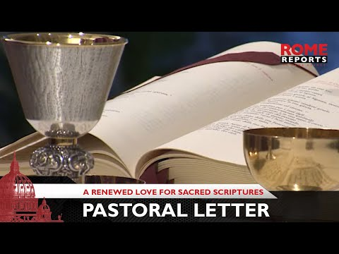 Pope Francis publishes pastoral letter to encourage reading of the Bible