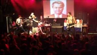 Bloodhound Gang - Fire Water Burn [HD] live 27 7 2013 Melkweg Amsterdam