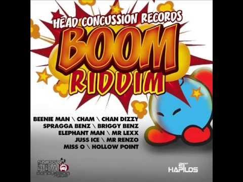 BOOM RIDDIM MIXX BY DJ-M.o.M CHAM, CHAN DIZZY, MR. LEXX, JUSS ICE and more