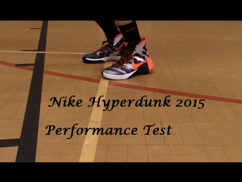 check out ed5e4 f91ec Nike Hyperdunk 2015 Performance Test  Review - YouTube