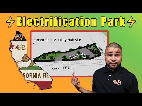 Green Tech Zero Emissions Mobility Hub Groundbreaking | CBTV Sacramento with Logan Williams