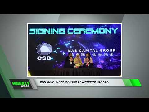 """Channel W (CH 634): """"CSD Announces IPO in the US as a step to NASDAQ"""""""
