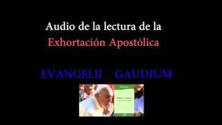 Audio de la Exhortación Apostólica EVANGELII GAUDIUM del Papa Francisco