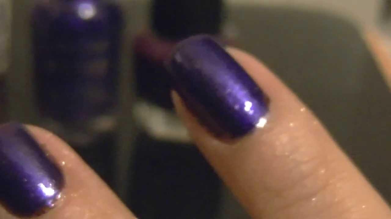 My Eyeshadow over My Nail Polish Manicure - Yes Eyeshadow ...