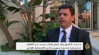 محمد القيق يهدد بإضراب جديد بعد اعتقاله إداريا