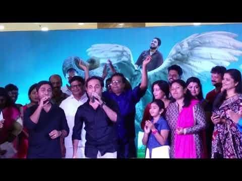 Vineeth Srinivasan singing Jimikki kammal song Anu sithara aana alaralodalaral
