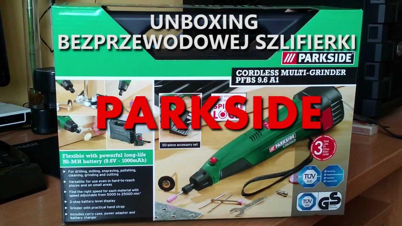 rozpakowanie unboxing szlifierki akumulatorowej parkside test youtube. Black Bedroom Furniture Sets. Home Design Ideas