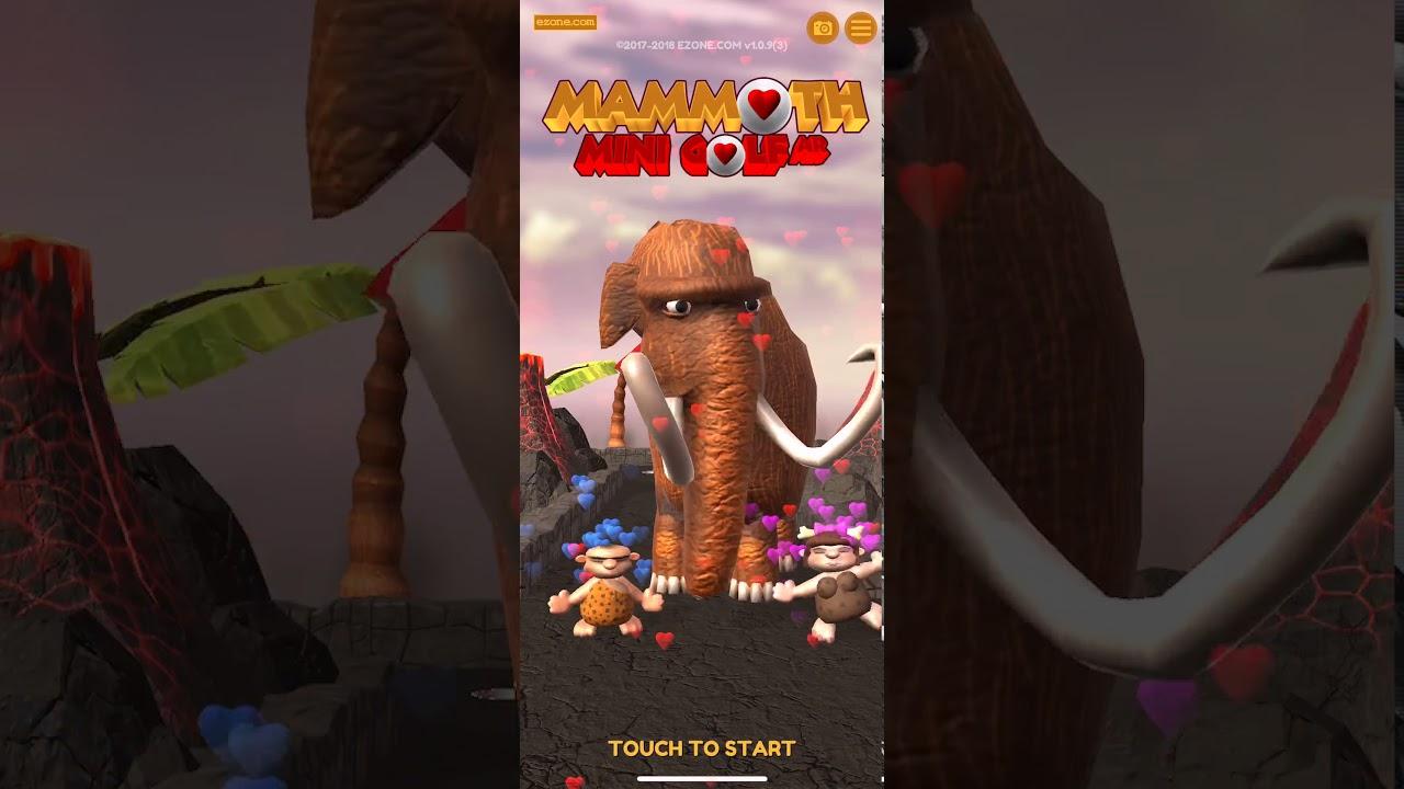 Mammoth Mini Golf AR - iPhone X Face Tracking #ARKit