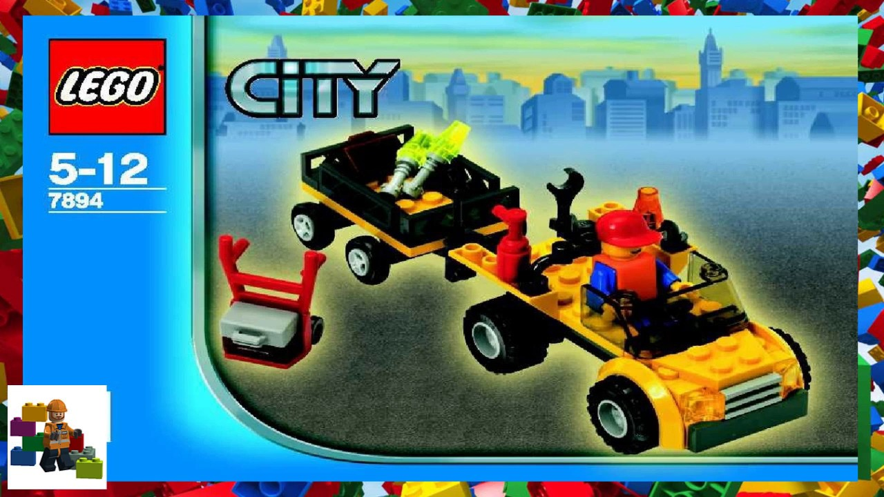 Lego Instructions City Airport 7894 Airport Book 1 Youtube