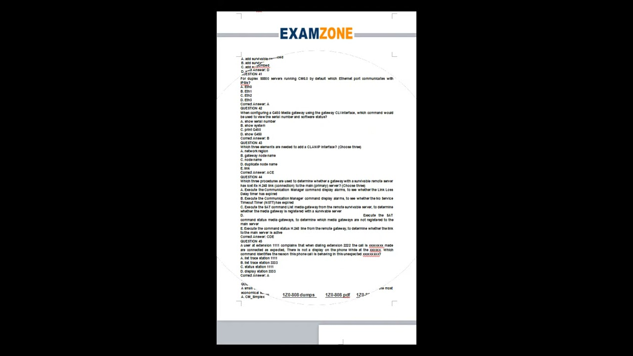 Ocp Java Se 6 Programmer Practice Exams Pdf