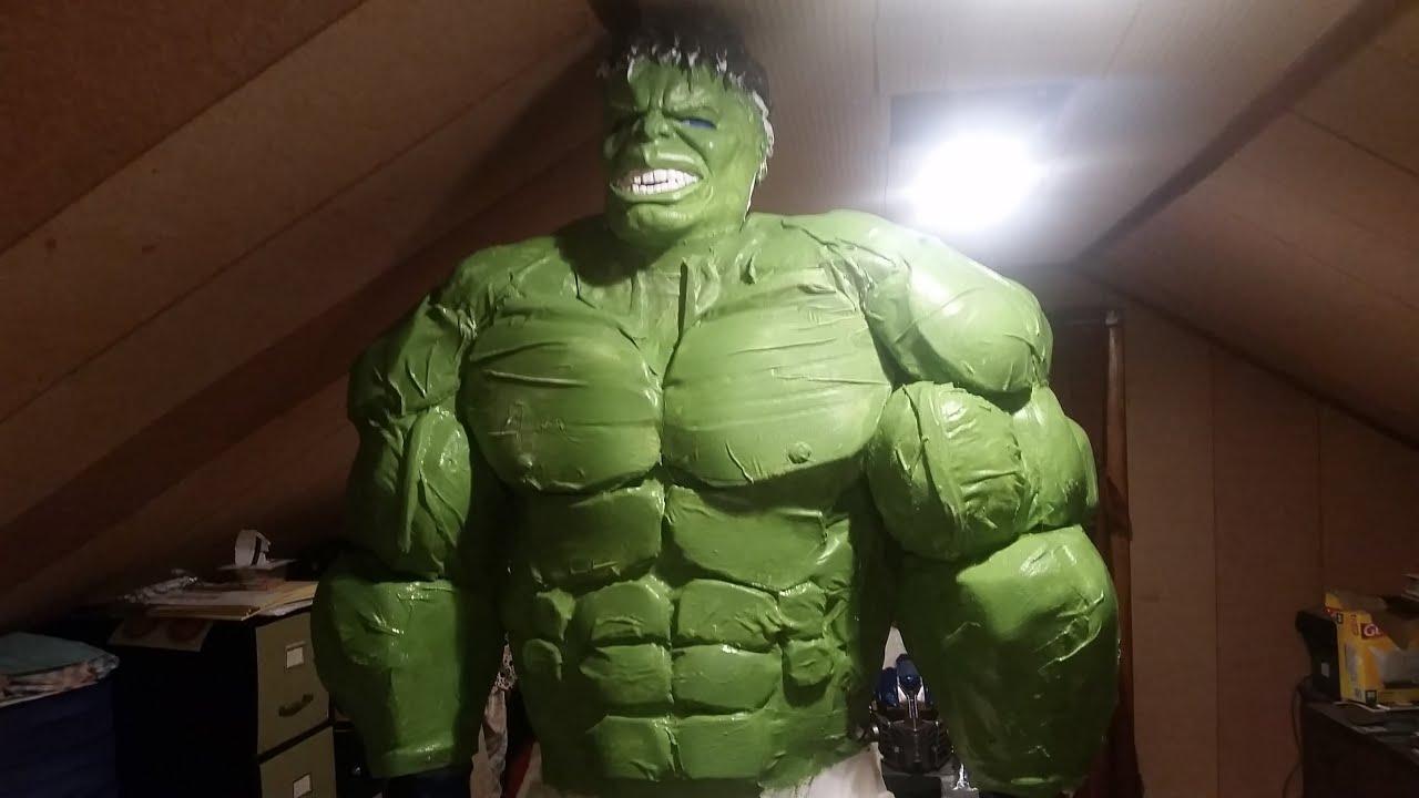 Diy Hulk Costume Hulk Costume Tutorial Part 6 Youtube