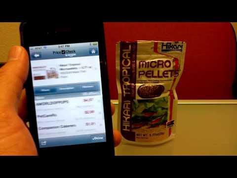 Amazon Price Check Mobile App Demonstration
