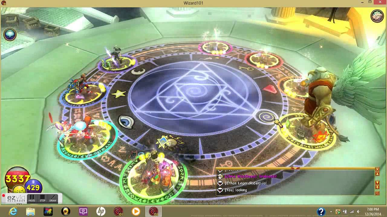 Wizard101: Getting Blade Of The Felled Titan From Cronus