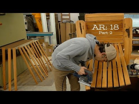 Building Adirondack Chairs: Part 2