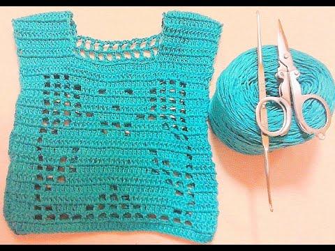 [ Crochet Sweater - Image Bears] Hướng dẫn móc áo len hình con gấu.