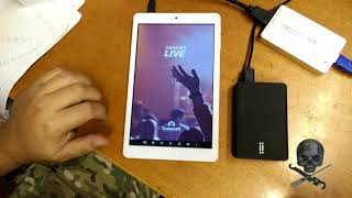 streaming con telecamera professionale e smartphone android