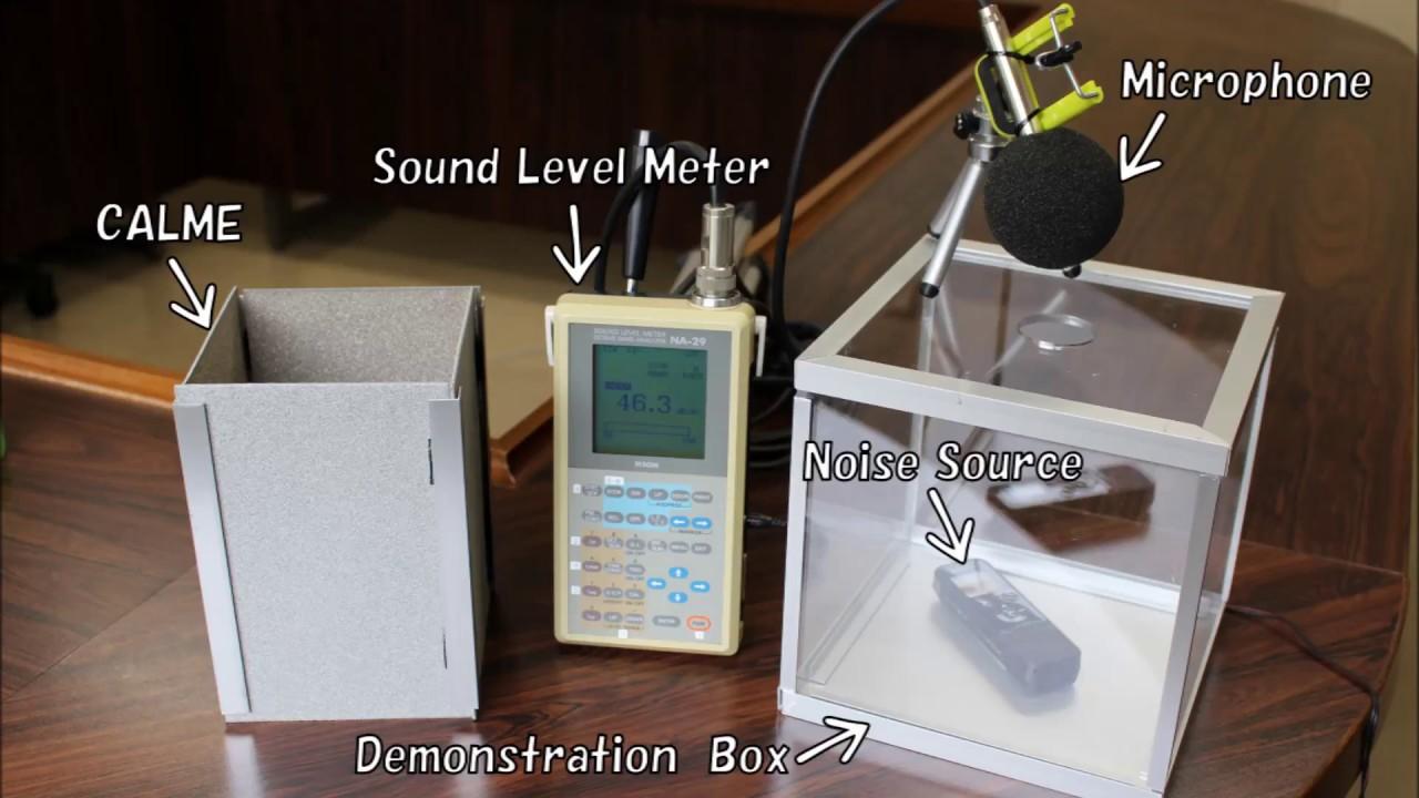 CALME Sound Absorption Experiment