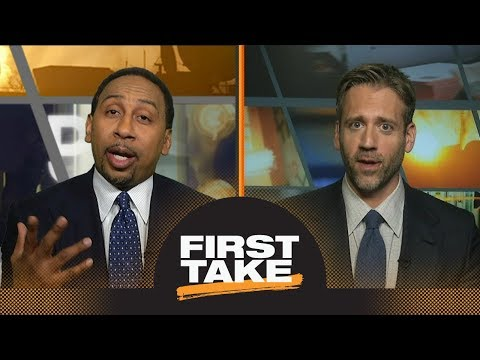 Stephen A. and Max list NBA players ahead of James Harden | First Take | ESPN