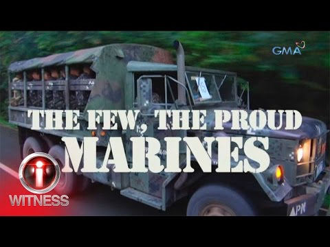 I-Witness: 'The Few, The Proud, Marine: Part 1,' dokumentary