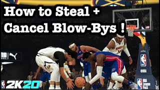 NBA 2K20 On Ball Steals Tutorial How to Get More Steal Animations. Best Defense Tips + How to Defend