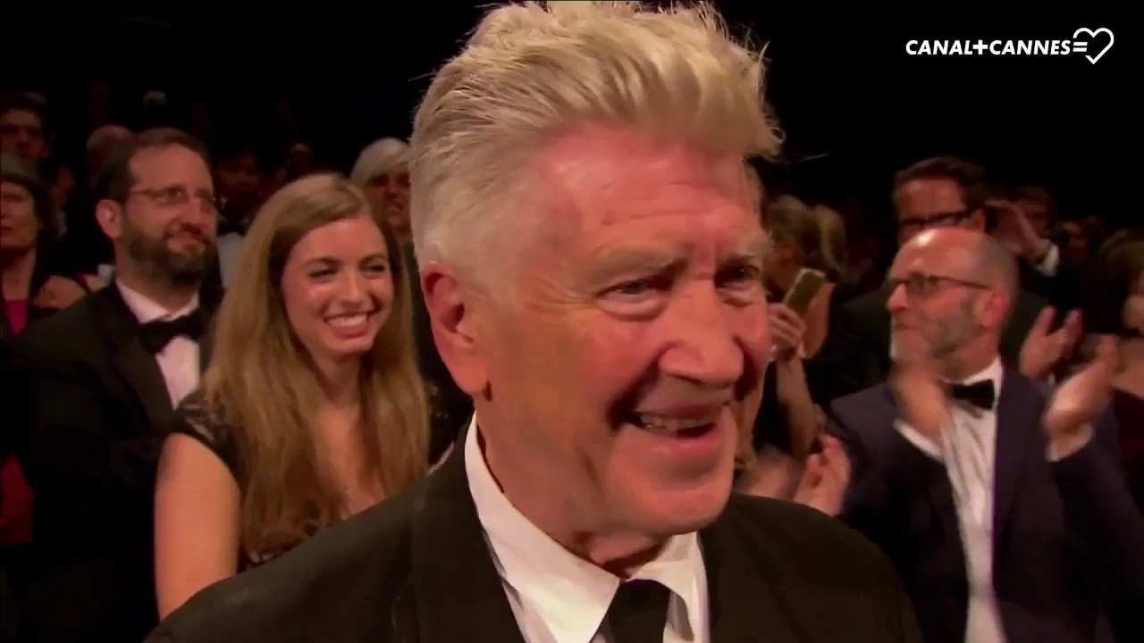 Ovation For David Lynch After The Screening Of Twin Peaks 25 May