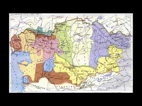 Каракалпакстан в составе Казахской СССР, в РСФСР и в Узбекской СССР