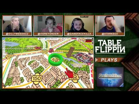 Scotland Yard Board Game Gameplay & Review - Ep. 29 - Table Flippin Board Games