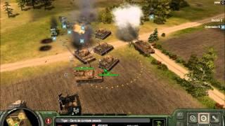 Panzers II partida en Field alemania vs U.S.A. periodo final dominación, comentado en directo