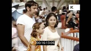 1973 Coney Island Funfair, Summer in New York City, HD from 35mm