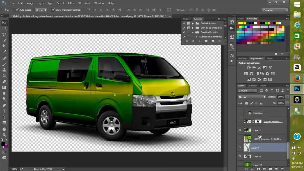 Vehicle Wrap Design Tutorial Youtube